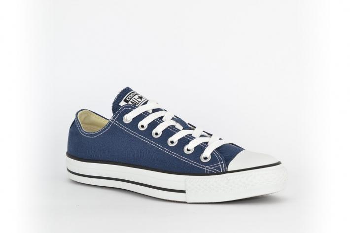 new arrivals 2adeb 6c11c Converse All Star Chucks flach blau / dunkelblau