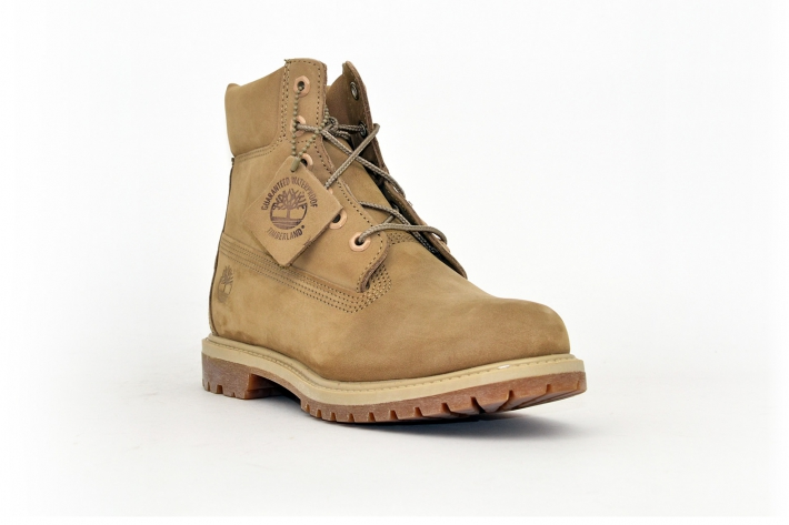 Timberland Damen Classic Leather Boots Beige/ Sand