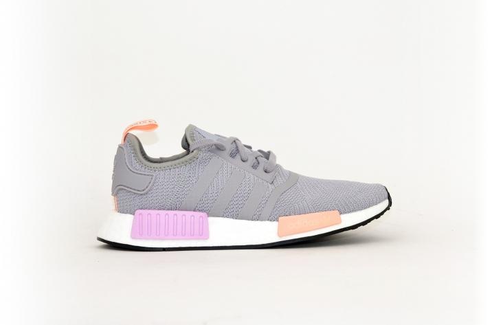 adidas nmd r1 grau rosa schuhe by3058