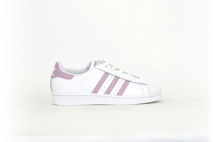adidas superstar damen weiß rosa