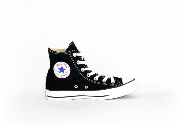 Converse All Star Chucks hoch schwarz