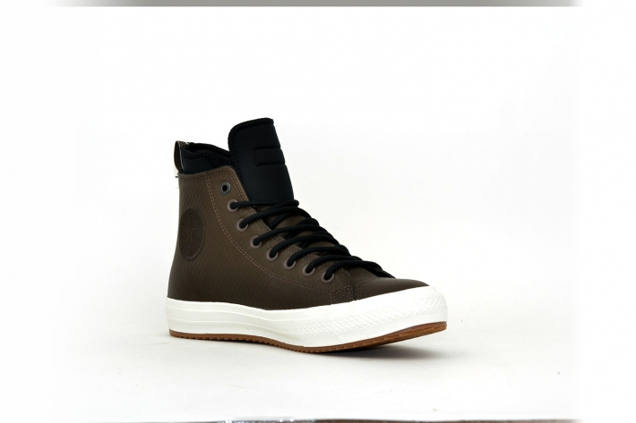 Converse Boots waterproof Leather Dark Chocolate Brown/ Dunkelbr