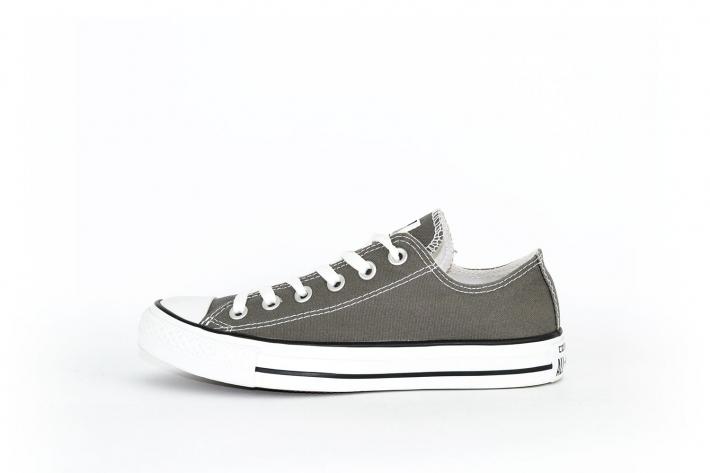 best sneakers a0963 bb09e Converse All Star Chucks flach grau / dunkelgrau