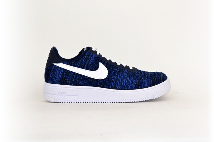 Nike Air Force 1 Flyknit 2.0 navy / weiß