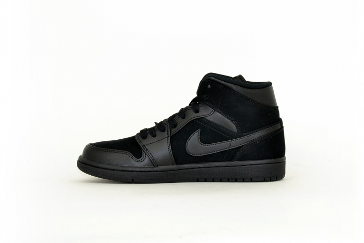 Nike Air Jordan 1 Mid all black