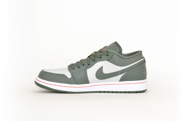 Nike Air Jordan 1 Low weiß / khaki