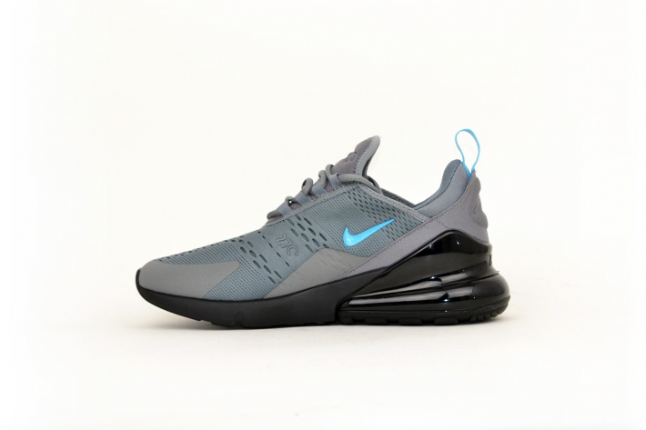 Nike Air Max 270 cool grey / blue / grau / blau