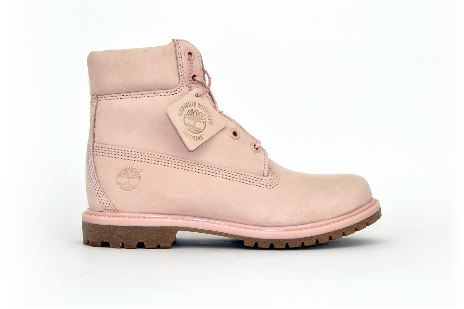 Timberland Damen Classic Leather Boots Rose/ Rosa 40