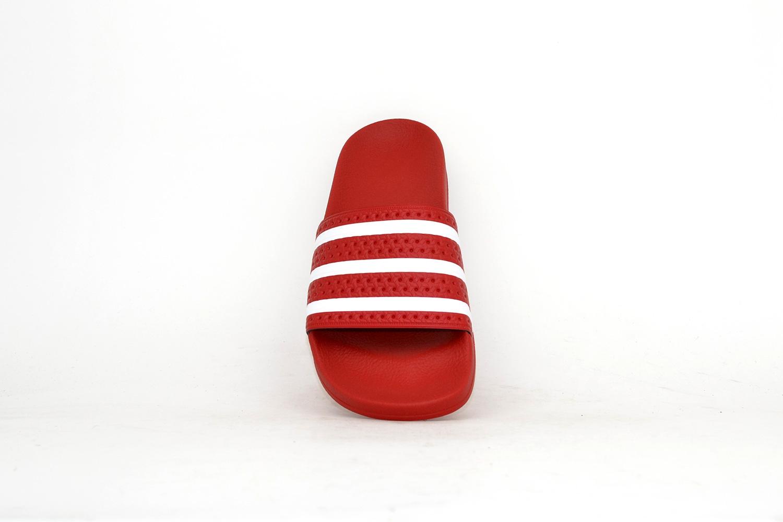 adidas Adilette rot / weiß