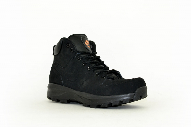 Nike Manoa Leather schwarz