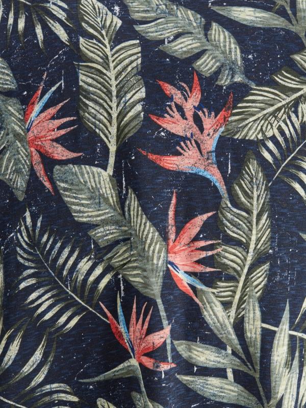 Jack & Jones Tropic T-Shirt dunkelblau