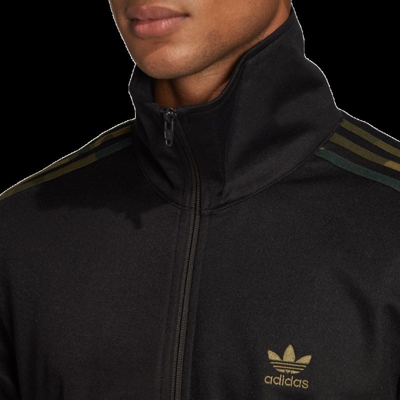 adidas Camo Trainingsjacke schwarz
