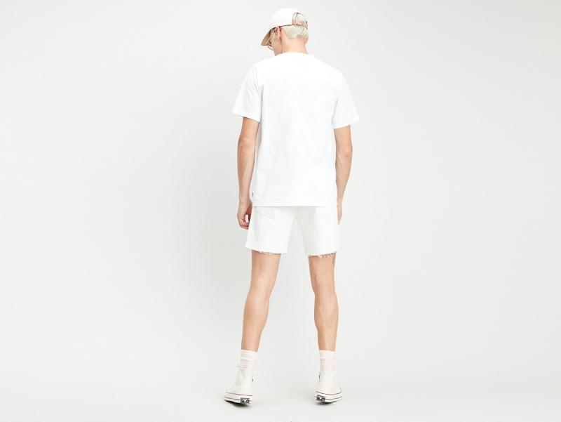 Levis Serif Logo T-Shirt weiß/mulitcolor