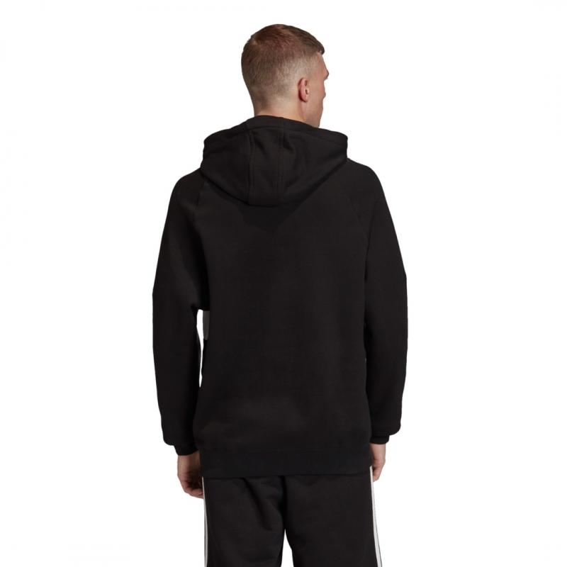 adidas Big Trefoil Hoodie schwarz