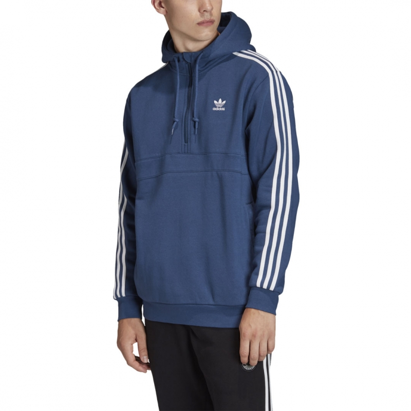 adidas 3 Stripes HZ Hoodie marineblau