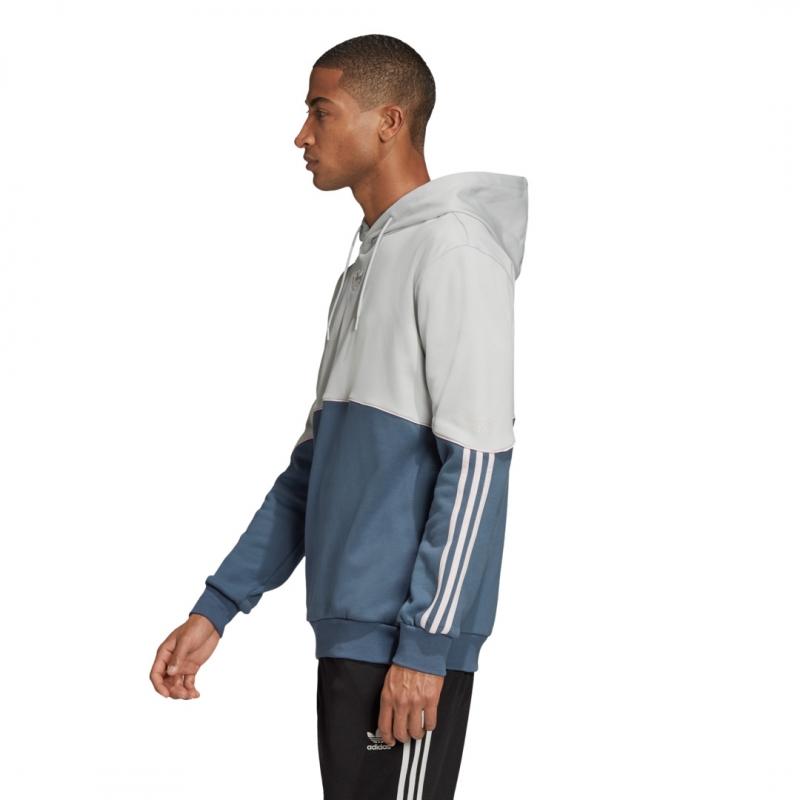 adidas Outline FT Hoodie grau/blau