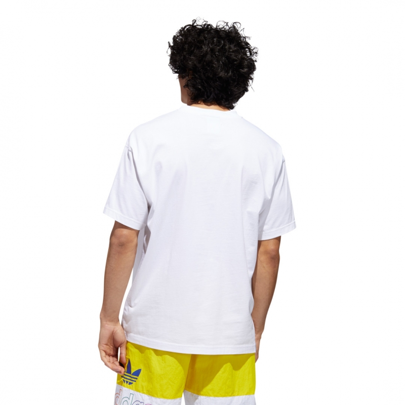 adidas Flag Fill Tee white / multicol.