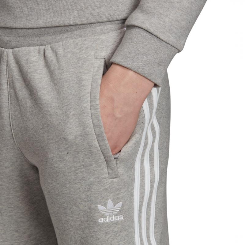 adidas Originals 3-Stripes Jogginghose grau / weiß