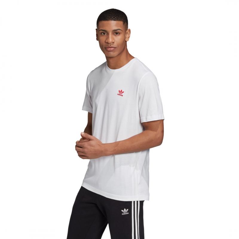 adidas Essential Tee weiß / rot