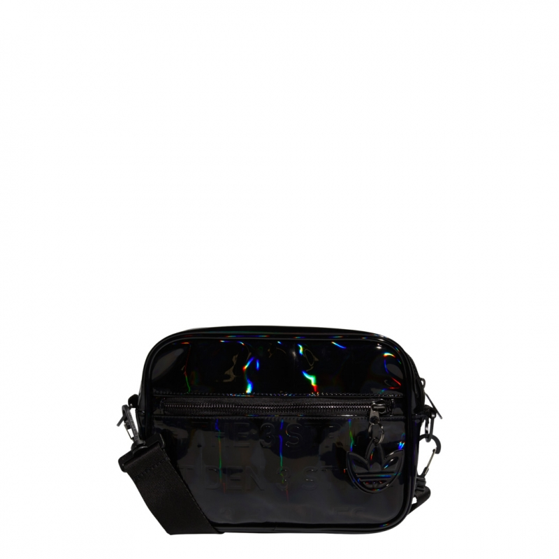 adidas MINI AIRL BAG black metallic
