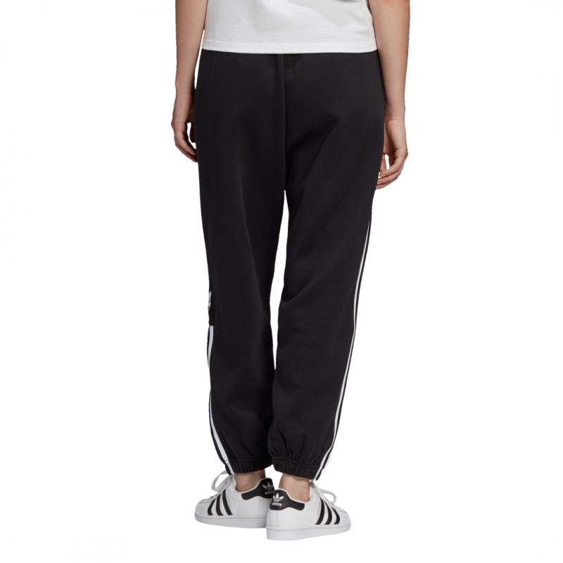 adidas cuffed pants black