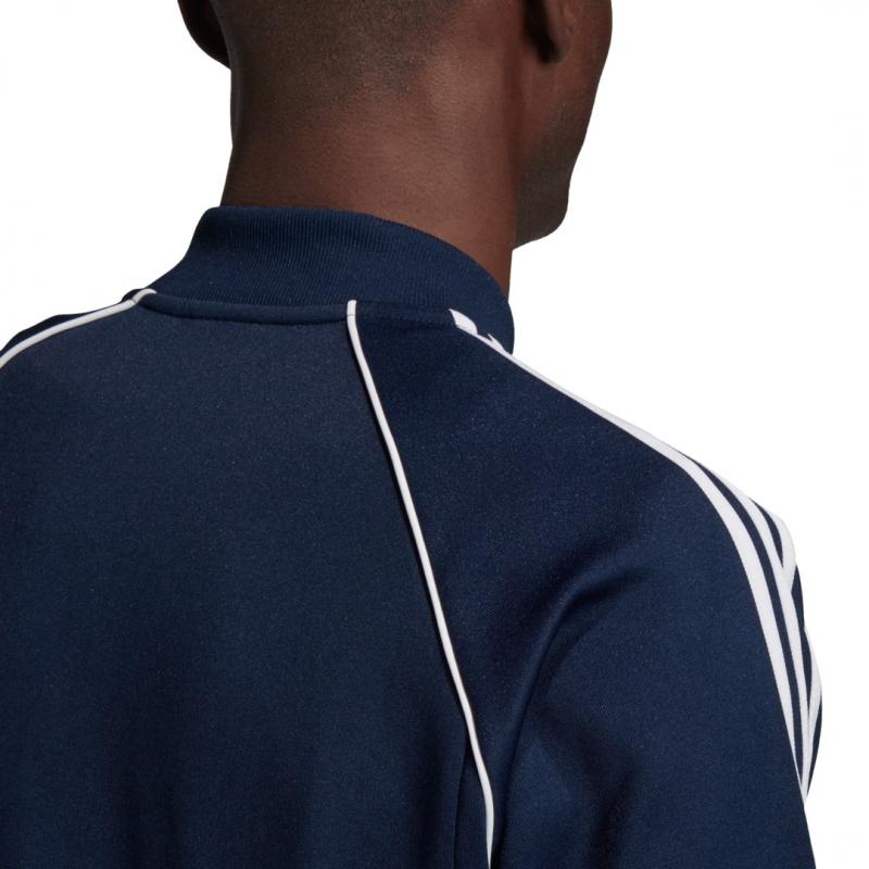 adidas Jacke sst blau / weiß