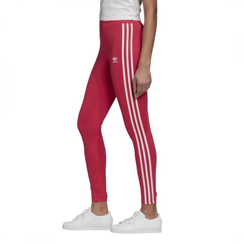 adidas Leggigns pink / weiß
