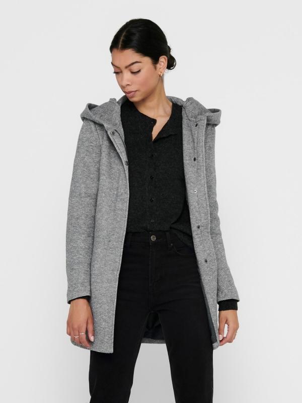 Only light coat Mantel grau