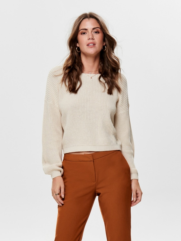 only lxena ife pullover beige