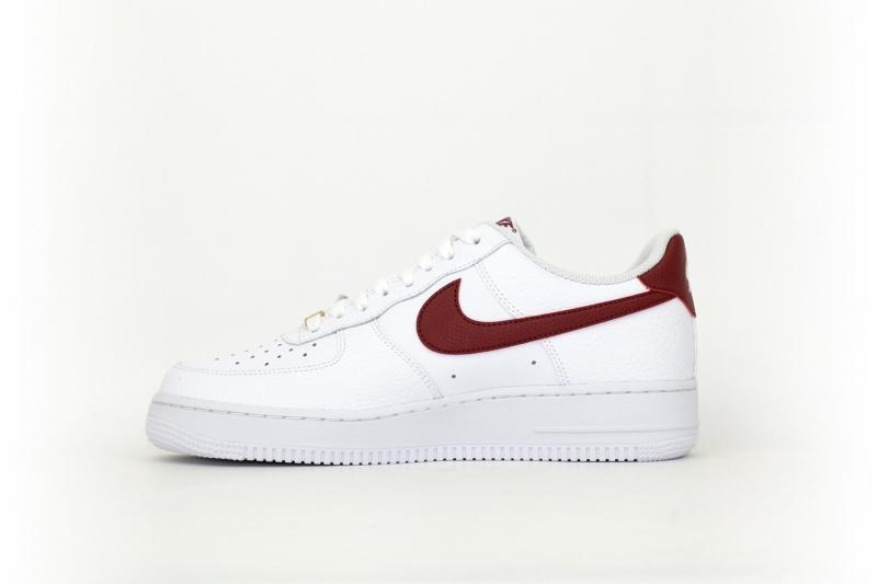Nike Air Force 1 weiß / rot / gold