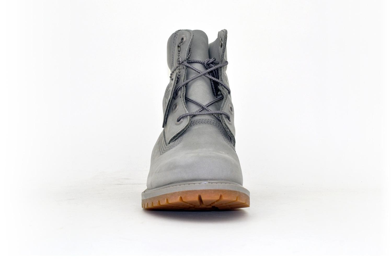 Timberland Damen Classic Leather Boots Grey/ Grau