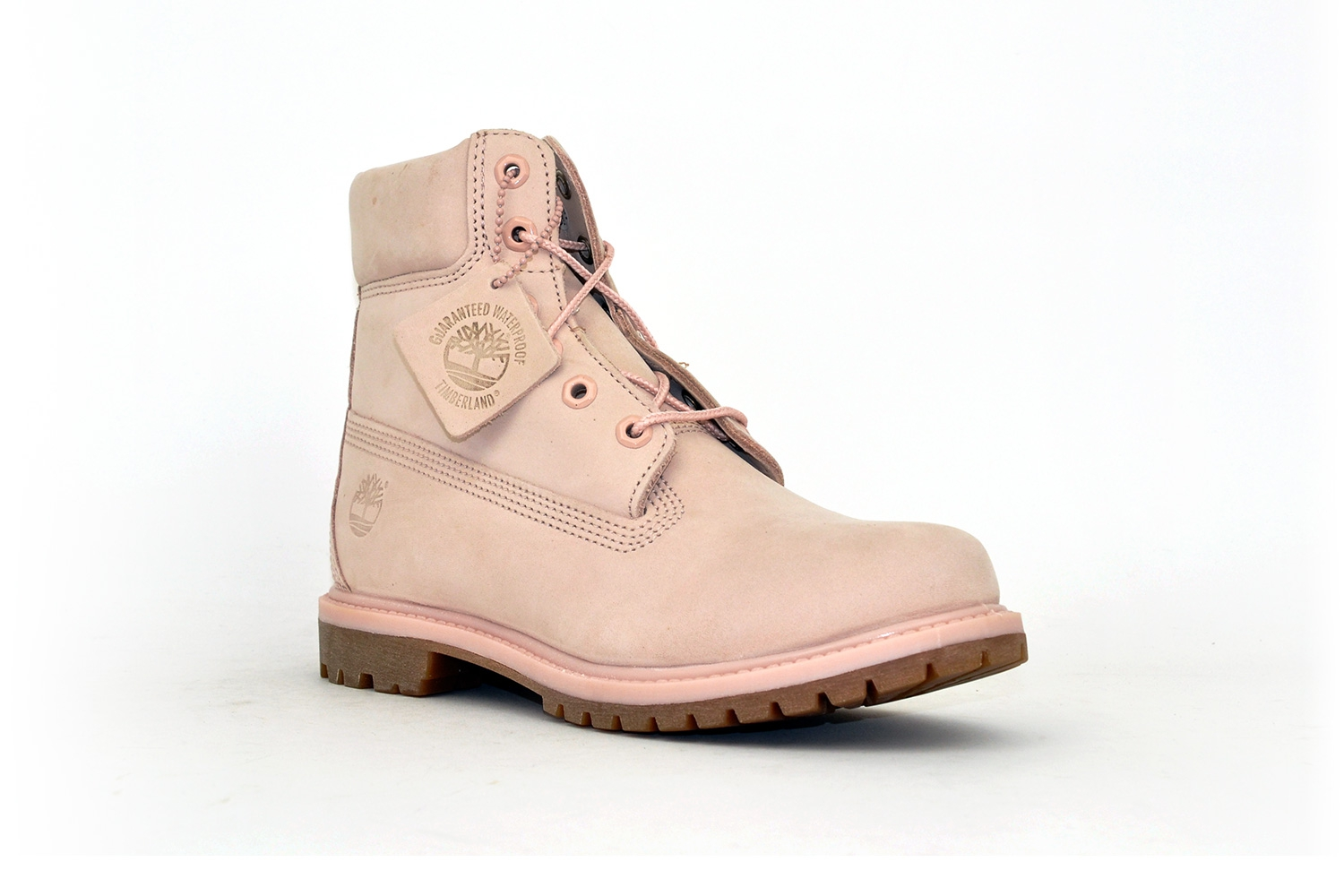 Timberland Damen Classic Leather Boots Rose/ Rosa