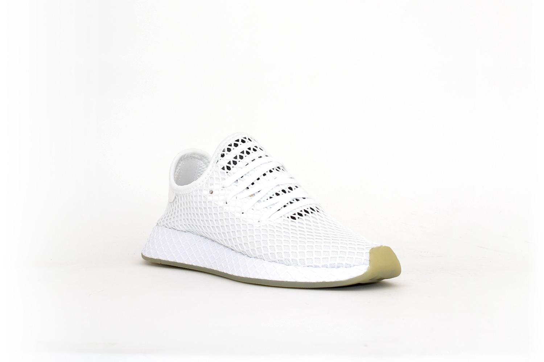 adidas Deerupt Runner white / blue / red