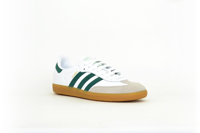 adidas Samba OG weiß / grün