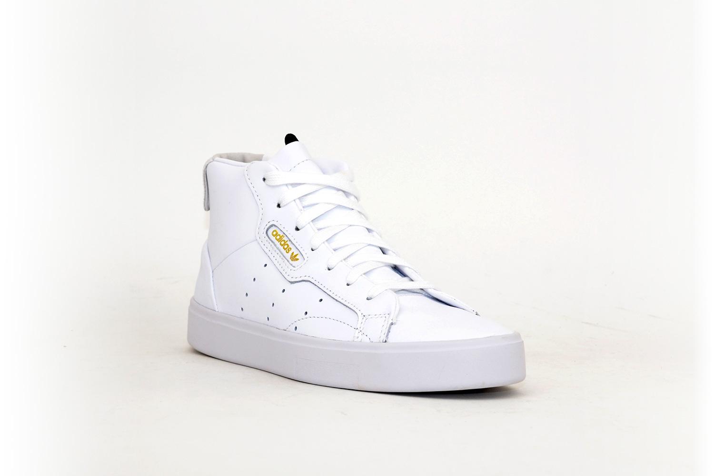 adidas Sleek Mid Women beige / weiß