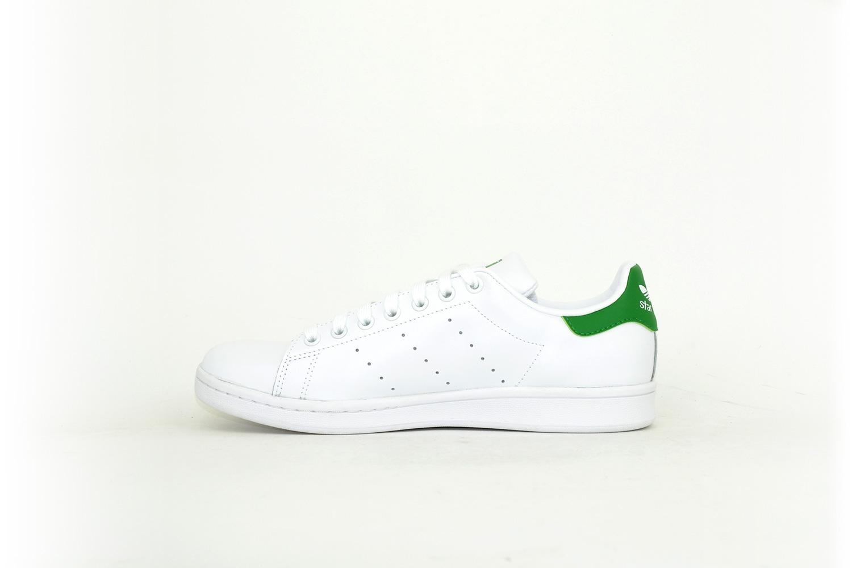 Adidas Stan Smith weiß / dunkelgrün