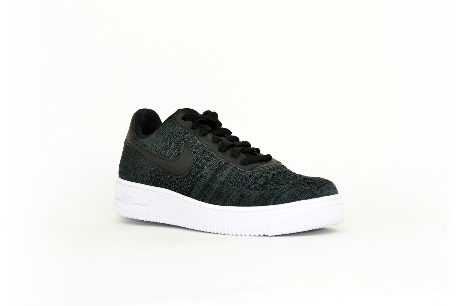 Nike Air Force Flyknit 2.0 schwarz meliert