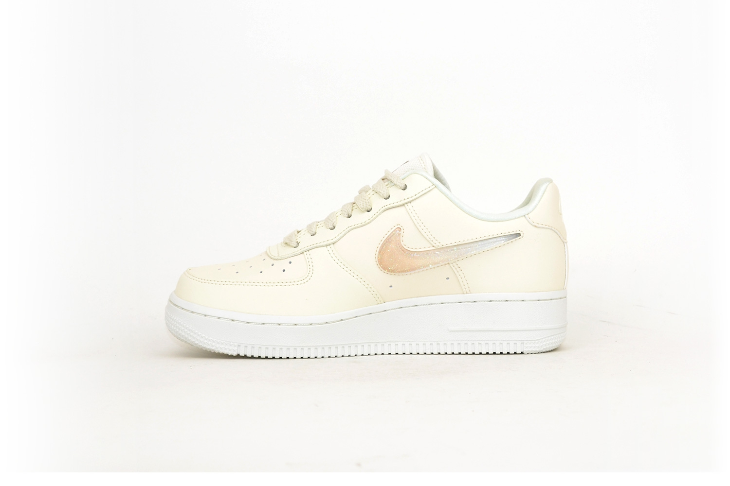 Nike Air Force 1 Premium beige glitter