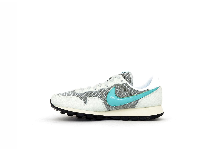 Nike Damen Air Pegasus 83 silber / metallic / türkis