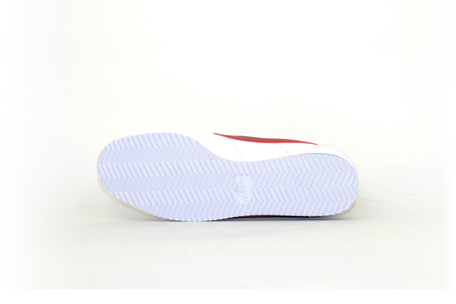 Nike Classic Cortez Leather white / red weiß / rot