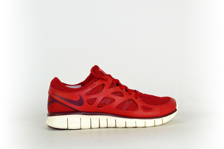 Nike Damen Free Run 2 rot weiß