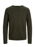 Jack & Jones Union Knit Pulli olive night