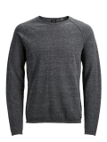 Jack & Jones Union Knit Pulli grey melange