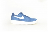 Nike Air Force 1 Flyknit 2.0 ocean / blau