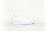 Nike Air Force 1 Flyknit 2.0 GS all white