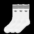 adidas Solid Crew Socken weiß