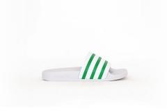 adidas Adilette weiß/grün