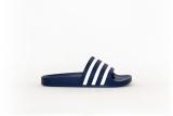 adidas Adilette dunkelblau/weiß