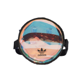 adidas Mini Rundtasche metallic