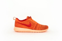 Nike Roshe One Flyknit orange/rot